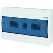 Tablou electric 1 rand 18 module, Eaton, capac transparent