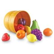 Set de sortare culori Learning Resources - Un cos cu fructe pentru dezvoltarea simtului tactil
