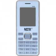 MTR MT Titan Mini dual sim with dedicated memory slot stronger battery and 1.8 inces display mobile phone in White color