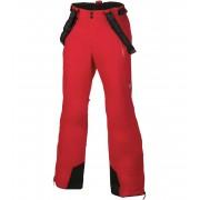 ALPINE PRO MOLINI 2 Pánské lyžařské kalhoty MPAH061475 purpurový plamen XL