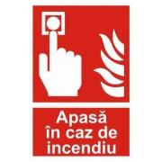 Apasa in Caz de Incendiu - A4 - M 1