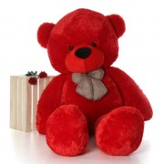Super Giant 7 Feet Red Bow Teddy Bear Soft Toy