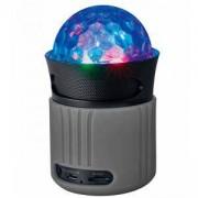Портативна колона TRUST Dixxo Go Wireless Bluetooth Говорител с парти светлини, Сив, 21345