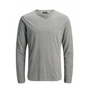 JACK & JONES Basic Long-sleeved Long-sleeved T-shirt Man Grå