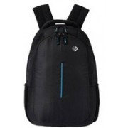HP 15.6 inch Expandable Laptop Backpack(Black, Blue)