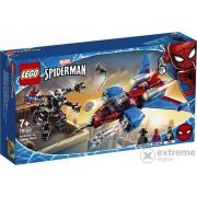 LEGO® Super Heroes 76150 Spiderjet contra robotul Venom
