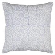 cushion cover - carnation - blue