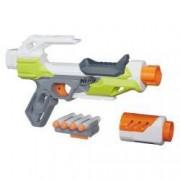 Blaster de jucarie Nerf Strike Modulus Ionfire + 4 sageti incluse