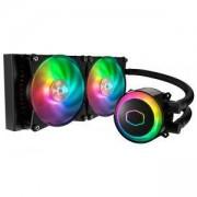 Охладител за процесор Cooler Master MasterLiquid ML240R ARGB, CM-FAN-MLX-D24M-A20PC-R1