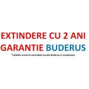 Cupon extindere garantie Buderus cu 2 ani pana la 5 sau maxim 7 ani