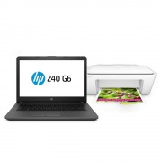 HP Kit Laptop HP 240 G6 Celeron N4000 Ram 4 GB DD 500 GB 14 Pulgadas W10H + Multifuncional HP 2134