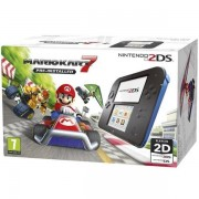 Consola Nintendo 2DS Mario Kart 7 (Negru/Albastru)