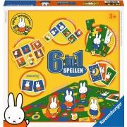 Spel 6 in 1 Nijntje: o.a. memory/domino
