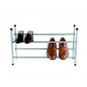 Compactor uitschuifbaar schoenenrek - 62-117 cm