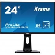 """IIYAMA 24"""" iiyama XUB2493HS-B1 - IPS,FullHD,4ms,250cd/m2, 1000:1,16:9,VGA,HDM"""