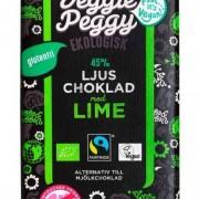 Veggie Peggy Ljus Choklad Lime 85 g