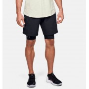 Under Armour Men's Project Rock Unstoppable Shorts Black XXL