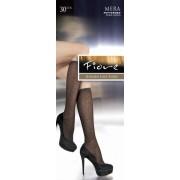 Fiore - Patterned knee highs Mera 30 denier