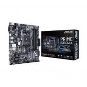 Tarjeta Madre ASUS Prime B350M-A/CSM 4xDDR4 PCI-E USB3 Socket AM4-Negro