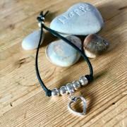 Heart 'Daisy' Bracelet