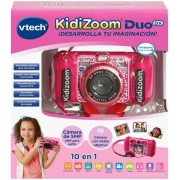 Camara Kidizoom Duo DX 10 en 1 rosa - Vtech