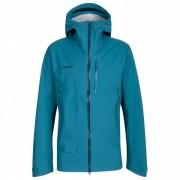 Mammut - Kento HS Hooded Jacket - Veste imperméable taille L, turquoise/bleu