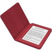 """E-Book Reader Bookeen SAGA, Ecran Multi-touch capacitive touchscreen E-Ink 6"""", Procesor 1GHz, 8GB Flash, Wi-Fi + Husa silicon inclusa (Rosu)"""
