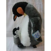 Emperor Penguin with Baby - 15 Inch Plush