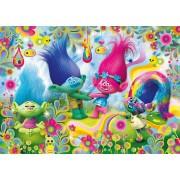 Puzzle Clementoni - Trolls, 104 piese (60846)