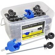 50x VOSS.farming XL Box Offset Ring Insulator + Drill Chuck + Box