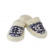 Papuci de casă călduroși din lână - Bărbați