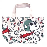 Peanuts Snoopy Lunch Tote Bag Flying Ace SNAP1500(Japan Import)
