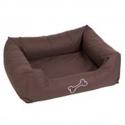 Cama Strong&Soft para cães - castanha - C 100 cm x L 75 cm x A 25 cm