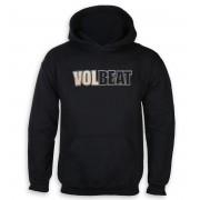 sweat-shirt avec capuche pour hommes Volbeat - Bleeding Crown Skull - ROCK OFF - VOLHD01MB