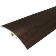 Profil aluminiu trecere cu surub ascuns, decor lemn, 30x2700 mm nuc