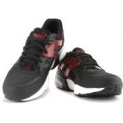 Puma R698 Mesh-Neoprene Men Mid Ankle Sneaker For Men(Black)