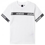adidas Performance SID Logo T-shirt Vit 13-14 years (164 cm)