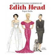 Award-Winning Fashions of Edith Head Paper Dolls, Paperback