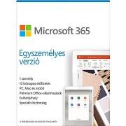 Microsoft 365 Egyszemélyes verzió (elektronikus licenc)