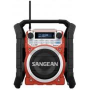 U-4 Strapabíró digitális rádió, Bluetooth, Aux-in, Red