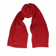 Tommy Hilfiger TJW Flag Rib Scar Wine Red Accessoires sjaals