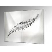 Abstract Arc Glass Art. 92x61cm