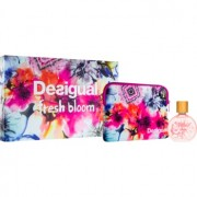 Desigual Fresh Bloom lote de regalo eau de toilette en spray 50 ml + bolsita 1