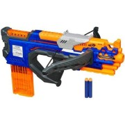 Nerf N-Strike Elite CrossBolt Blaster With 12-Dart Clip, 12 Elite Darts, Fires Darts Up To 90'