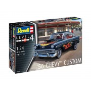 Plastic ModelKit 07663 - '56 Chevy Customs (1:24)