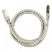 Cablu FTP 4World Patch cord neecranat Cat 6e 1m Gri