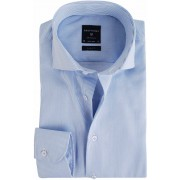 Profuomo Hemd Blau Streifen - Blau 42