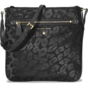 Michael Kors Women Casual Black Nylon Sling Bag(Imported)