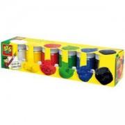 Комплект боички водни бои 6 цвята SES, 080929