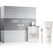Jimmy Choo Man Ice lote de regalo II. eau de toilette 100 ml + eau de toilette 7,5 ml + bálsamo after shave 100 ml
